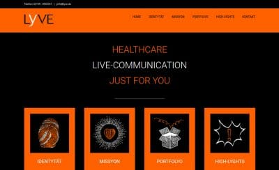 LYVE GmbH Healthcare Live Communication
