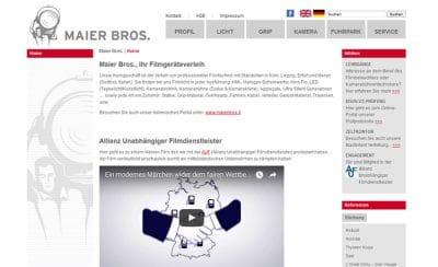Maier Bros. Filmgeräteverleih